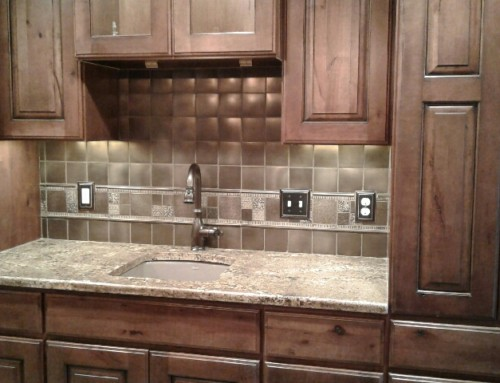 Cabinets, Countertop, Back Splash